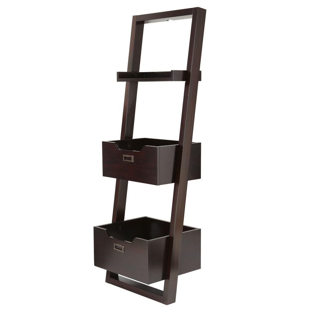 Little Sloane Leaning Bookcase (Java)