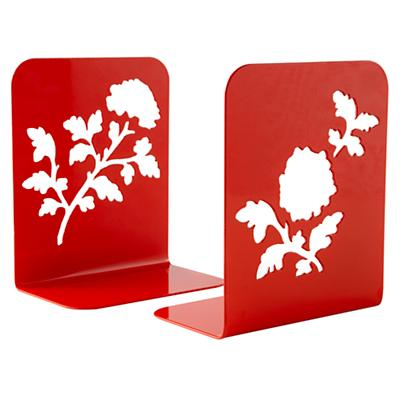Red Leaf Bookend (Set of 2)