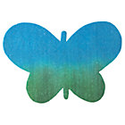 Blue-Green Felt Butterfly