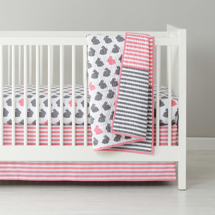 Bunny Rabbit Crib Bedding
