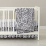 Dream Girl Crib Bedding (Grey)