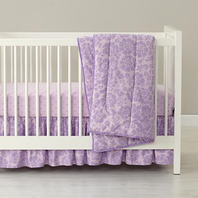 Dream Girl Crib Bedding (Lavender) in Crib Bedding Collections ...