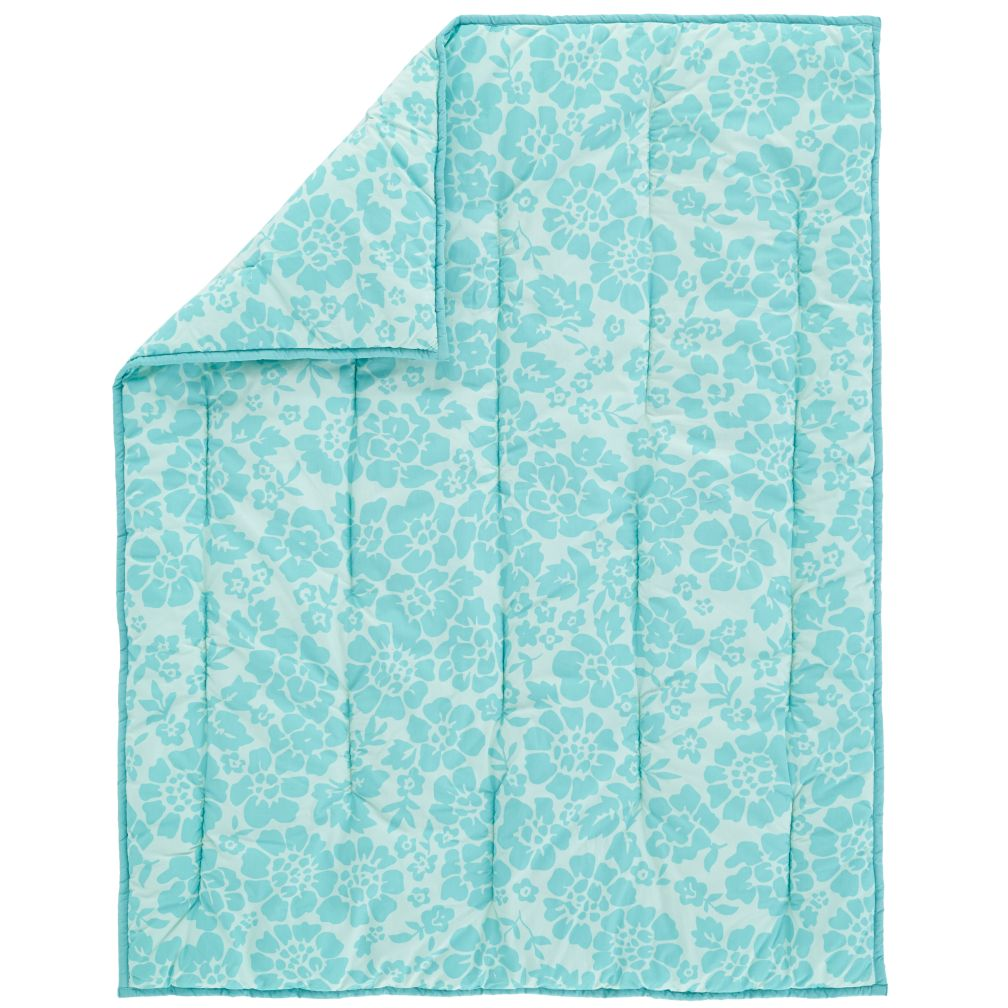 Dream Girl Crib Quilt (Aqua)