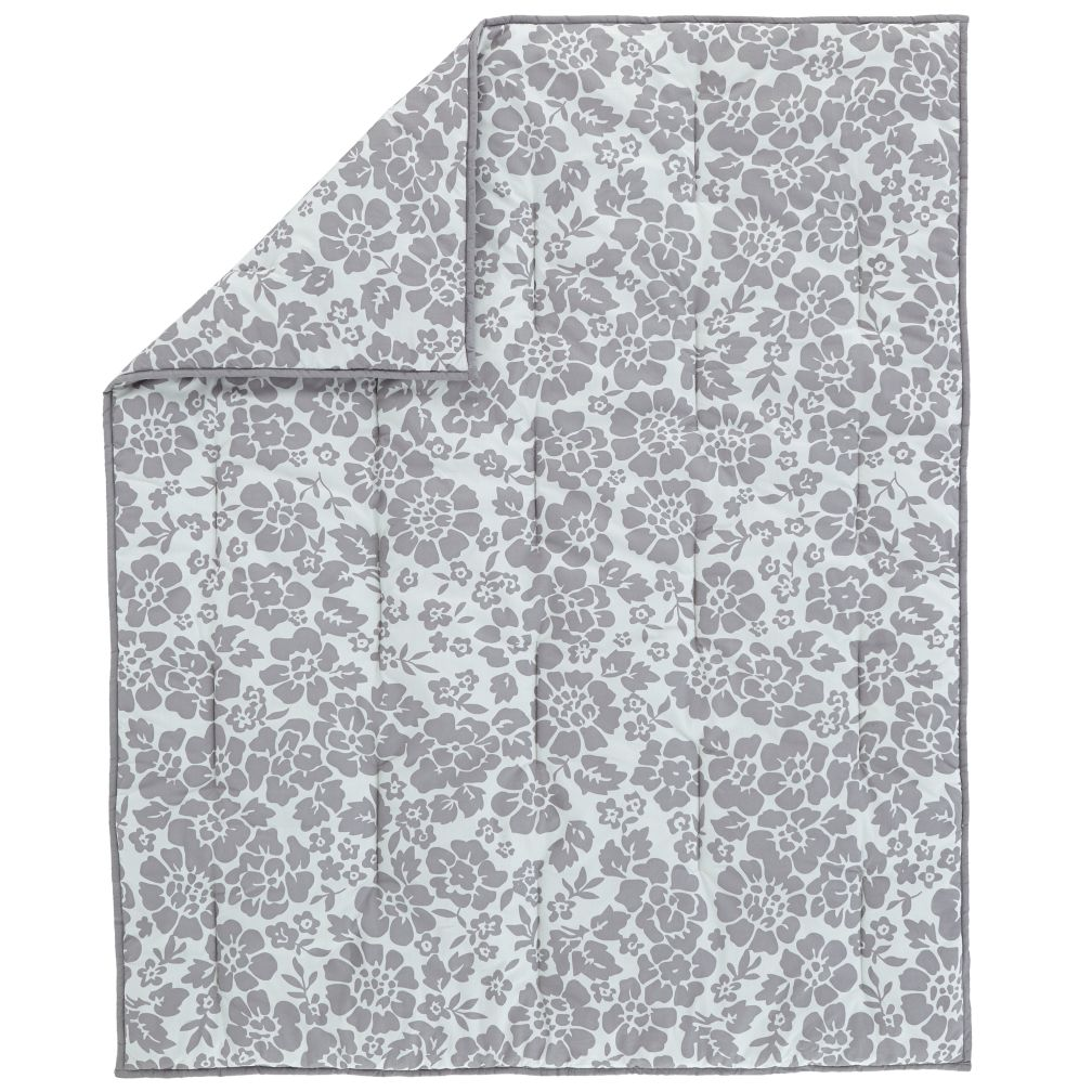 Dream Girl Baby Quilt (Grey)