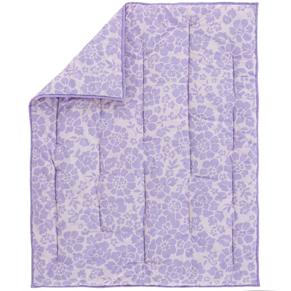Dream Girl Crib Quilt (Lavender)