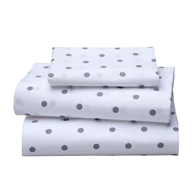 Dream Girl Toddler Sheet Set (Grey)