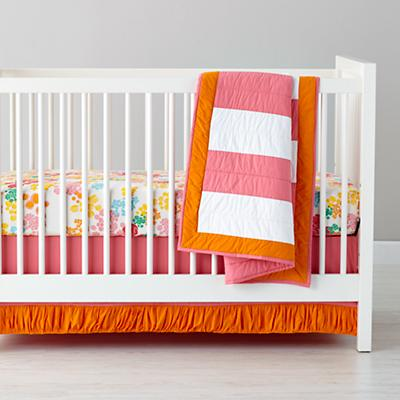 Floral Gem Crib Bedding