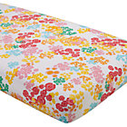 Multi Floral Crib Fitted Sheet