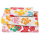 Floral Gem Toddler Sheet SetIncludes fitted sheet, flat sheet and toddler pillow case