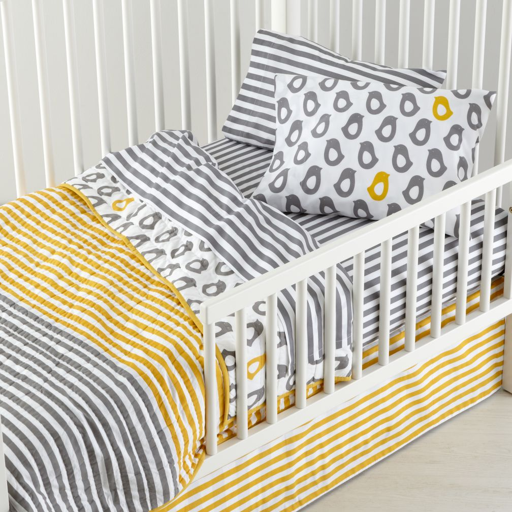 New School Toddler Bedding (Not a Peep)
