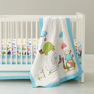 See Turtles Crib Bedding