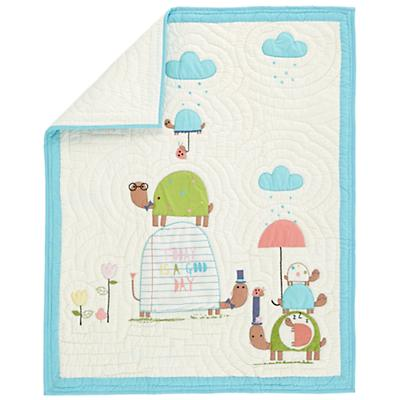 See Turtles Crib Quilt