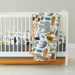 Welcome to the Jungle Crib Bedding