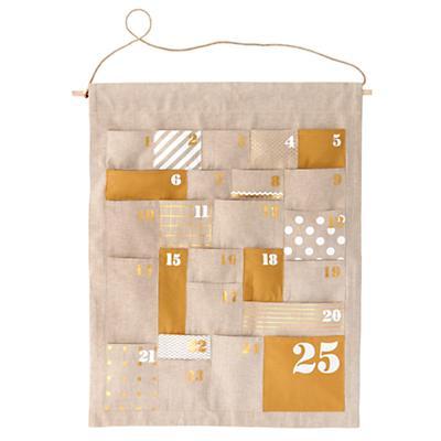 Advent Calendar (Gold)
