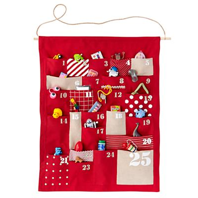 Advent Calendar (Red) & Stocking Stuffers