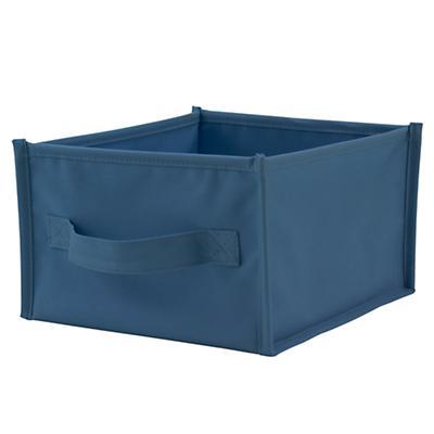 I Think I Canvas Shelf Bin (Blue)