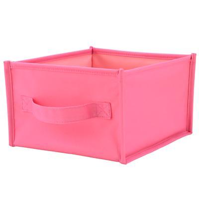 I Think I Canvas Shelf Bin (Pink)