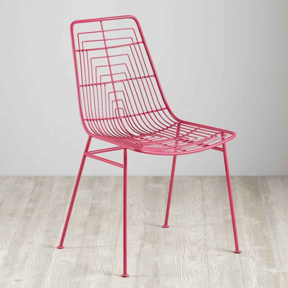 Domino Desk Chair Pink