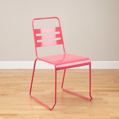 Homeroom Metal Desk Chair (Pink)