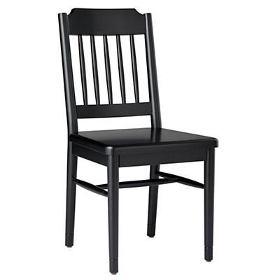 Flea Market Spindle Back Chair (Black)
