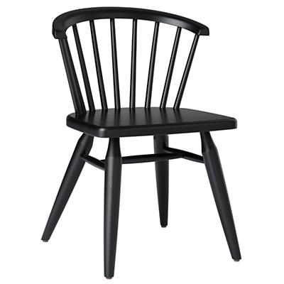 Flea Market Barrel Back Chair (Black)