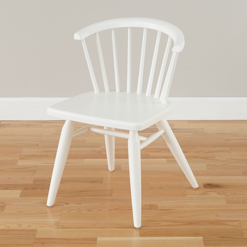 Flea Market Barrel Back Chair (White)