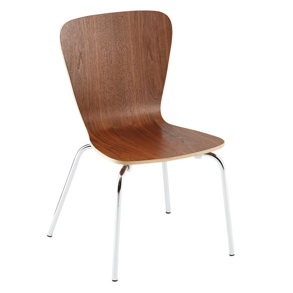 "Walnut Little Felix Chair<br />Floor to Seat: 14"" H"