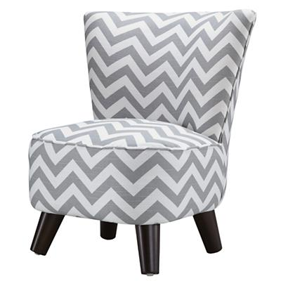 Little Slipper Chair (Grey)