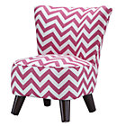 Hot Pink/White Slipper Chair