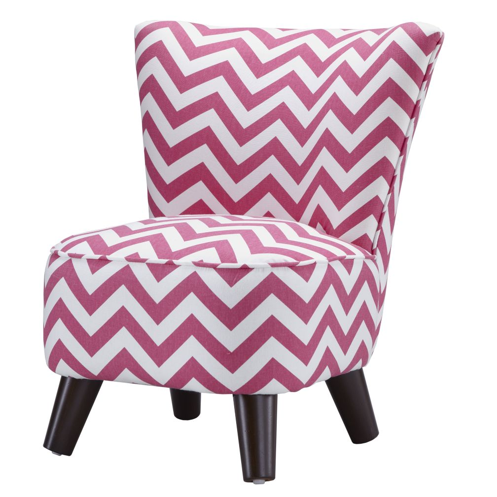 Little Slipper Chair (Pink Zig Zag)
