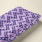Purple Zig Zag Changer Pad Cover