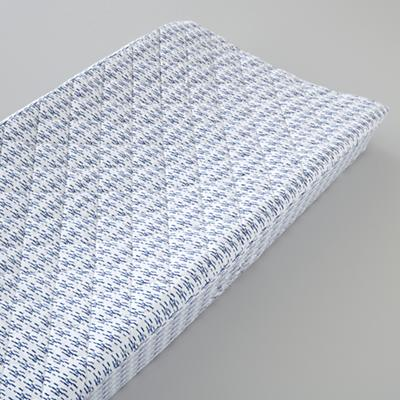 Fine Prints Changing Pad Cover (Blue)