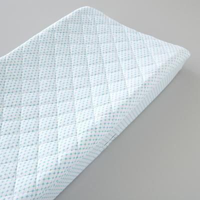 Changer Pad Cover (Aqua Diamonds)