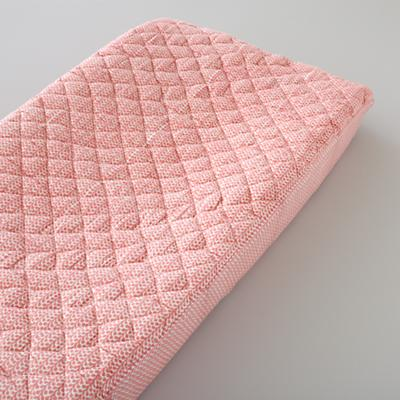 Changer Pad Cover (Pink Leaf)