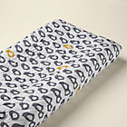 Yellow & Grey Chick Changing Pad Cover