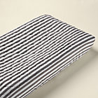 Grey Stripe Changer Pad Cover