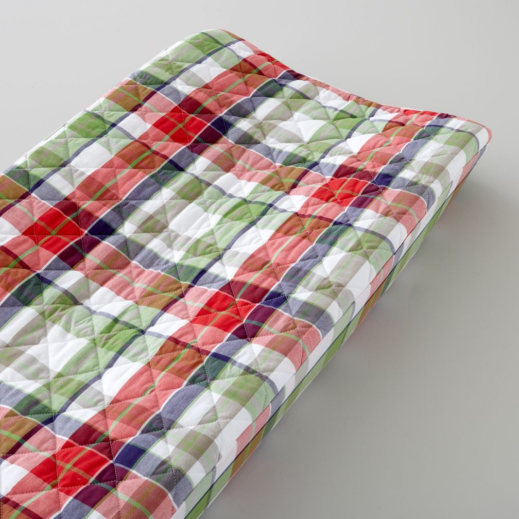 Changer Cover (Blue Plaid)