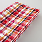 Pink Plaid Changer Pad Cover