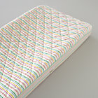 Multi Stripe Changing Pad Cover
