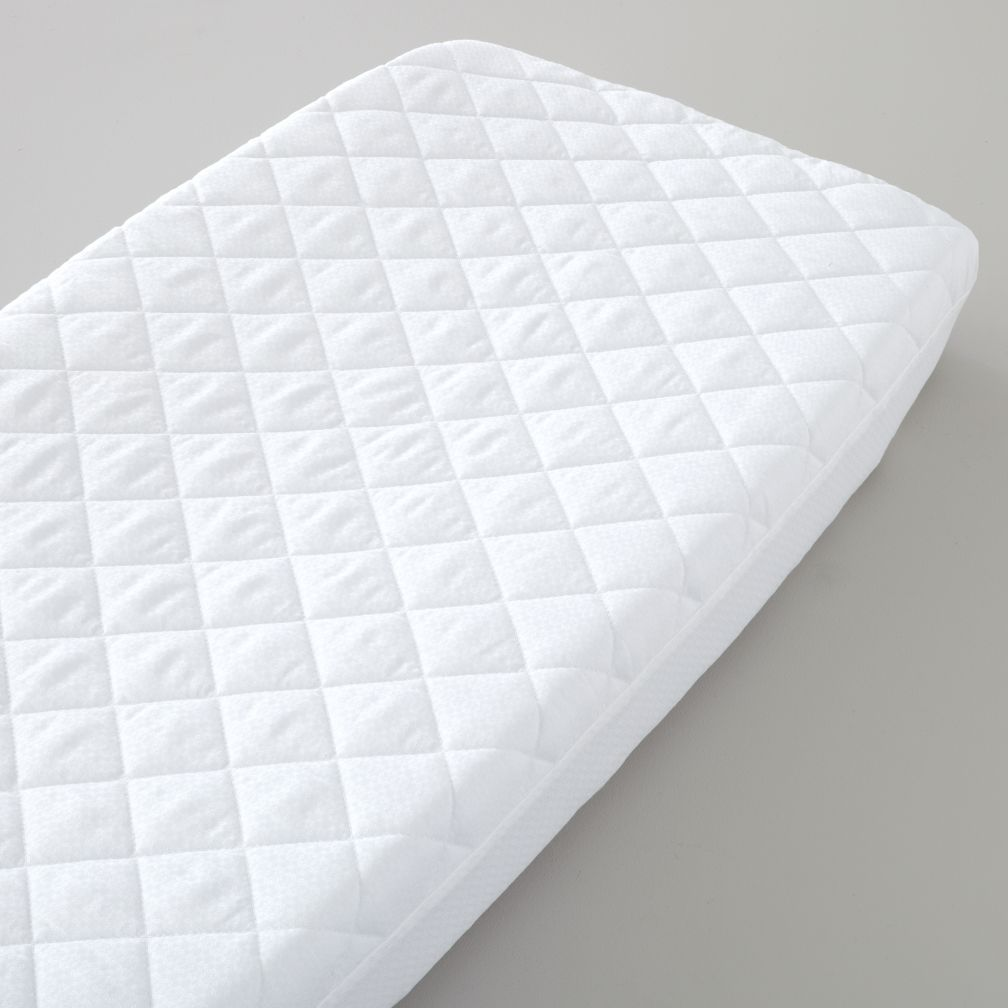 Nice Day White Changing Pad Cover