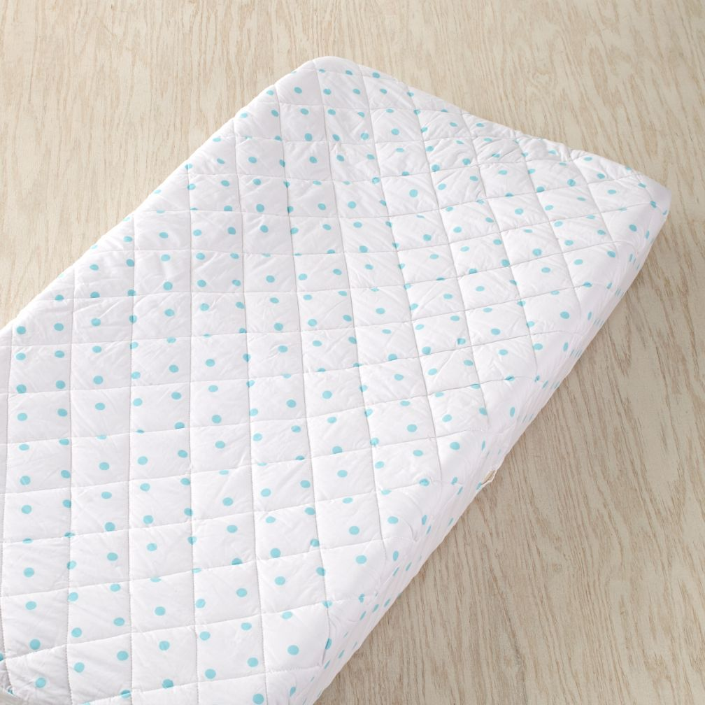 Dream Girl Changer Pad Cover (Aqua Dots)