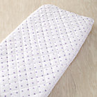 Lavender Dot Changing Pad Cover