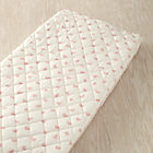 Pink Heart Changing Pad Cover