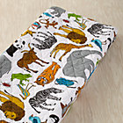 Multi Jungle Animal Changing Pad Cover