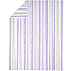 Full-Queen Lavender Stripe Duvet Cover