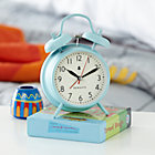 Blue Chime Alarm Clock