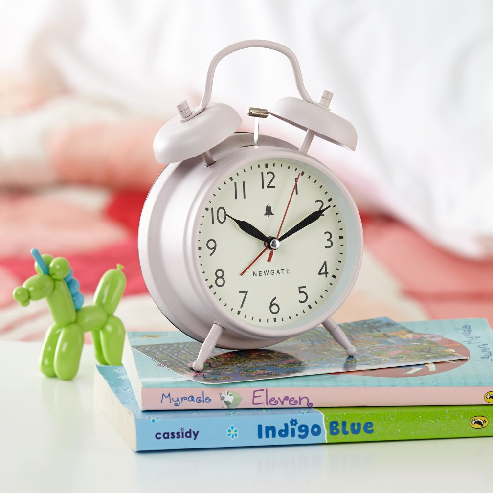 Chime After Chime Alarm Clock (Pink)