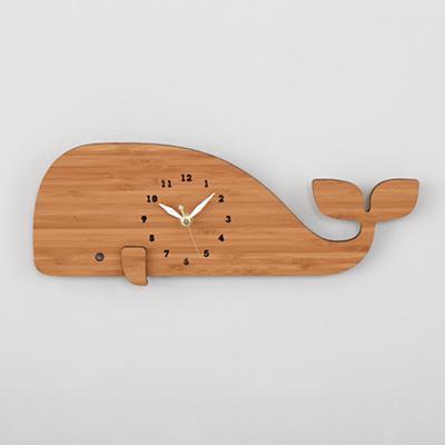 Whale Modern Wall Clock