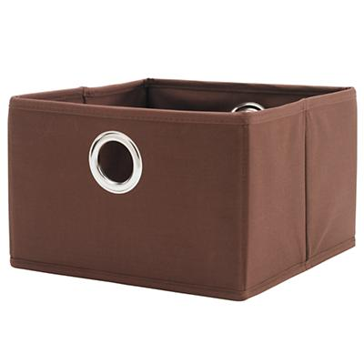 I Think I Canvas Wide Drawer (Brown)
