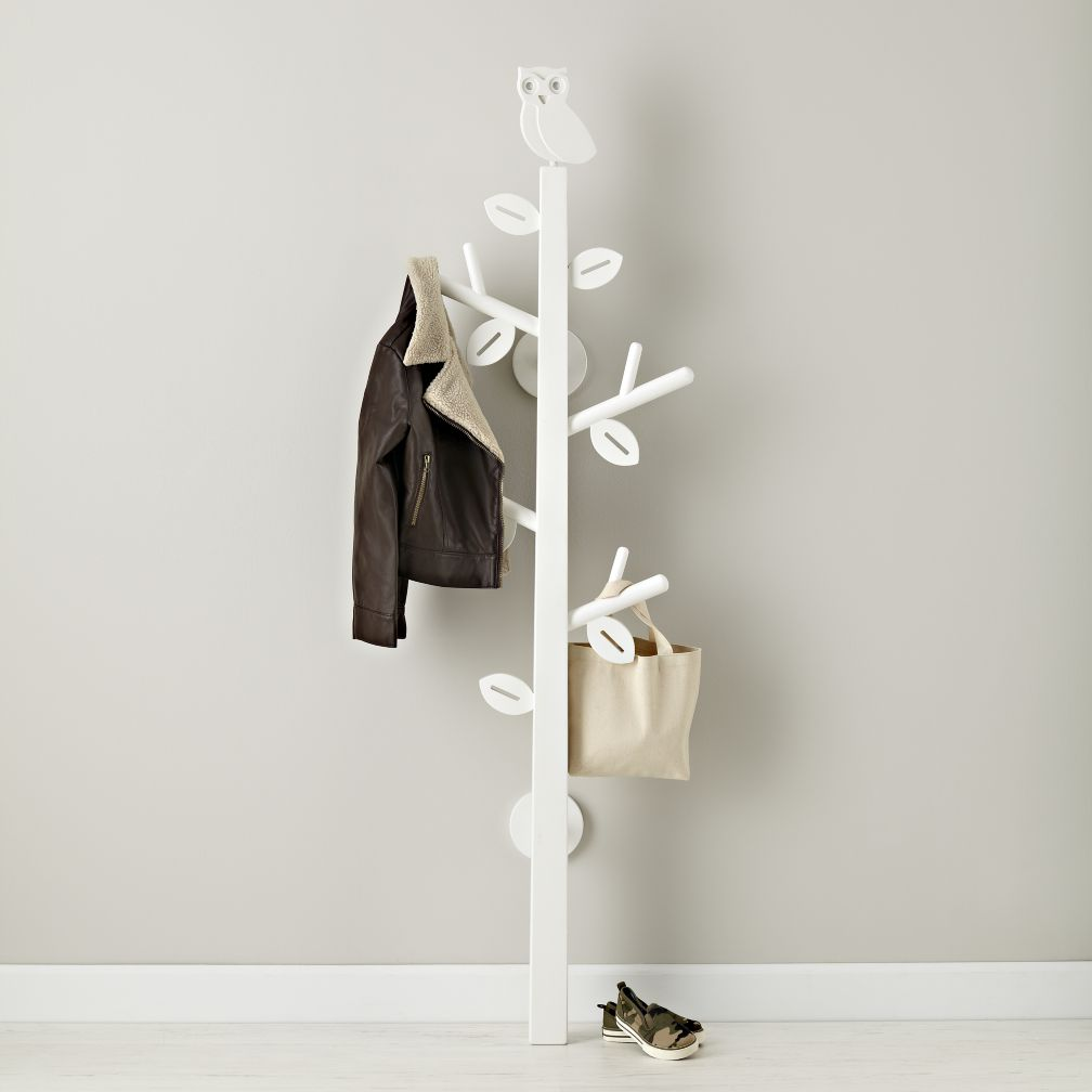 Kids standing coat racks the land of nod Kids coat rack